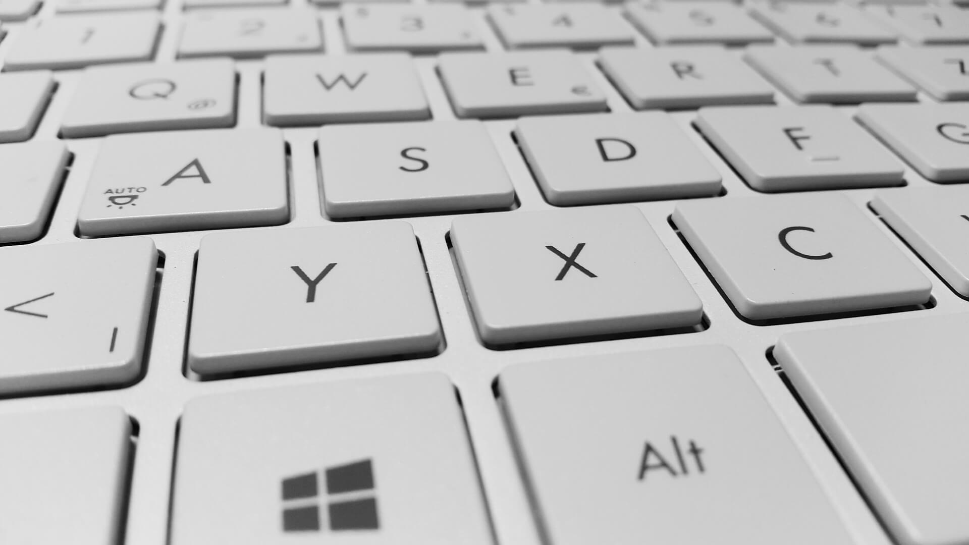 Moderne Tastatur