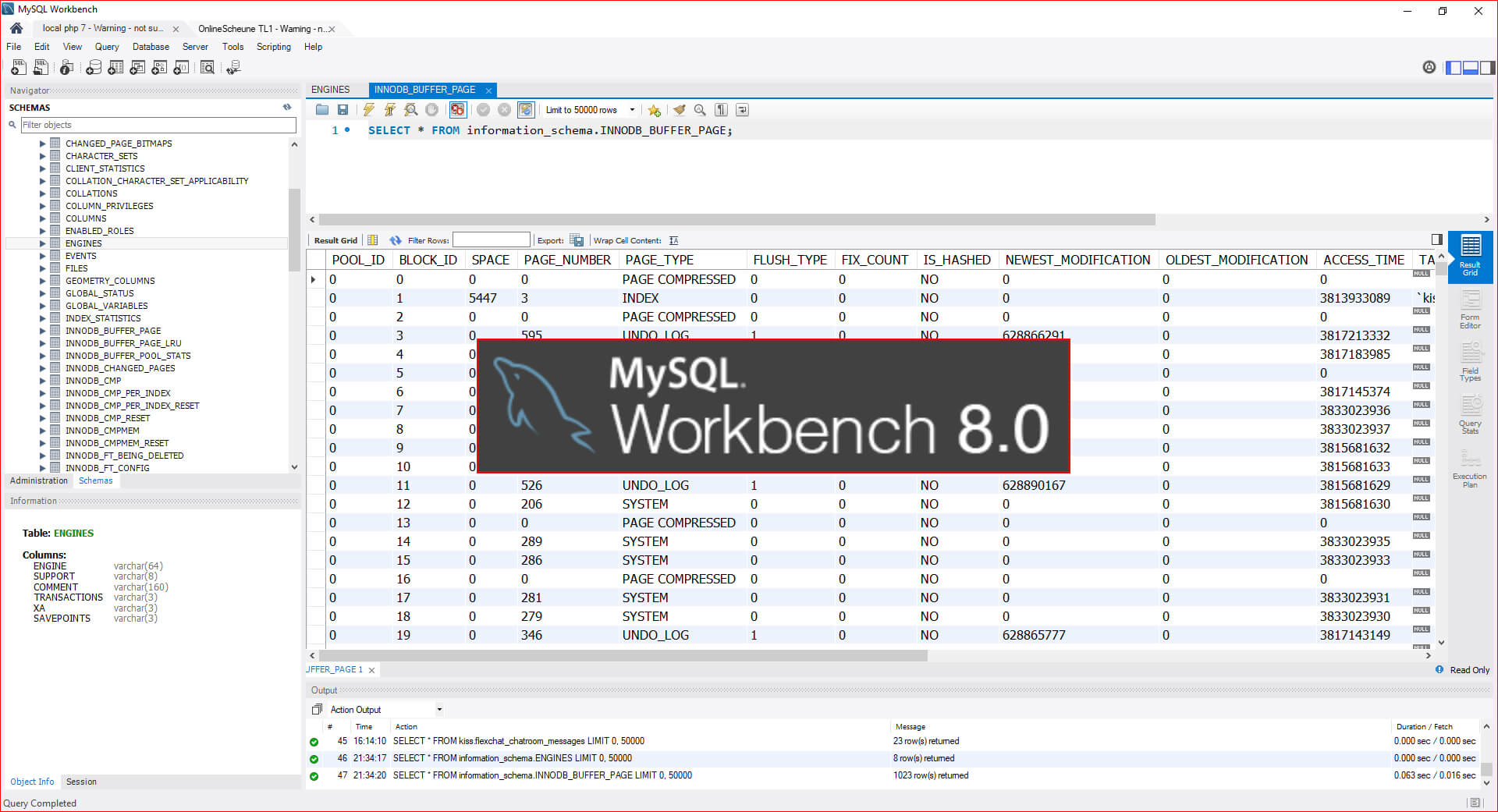 Oracle Workbench 8.0 CE - Übersicht