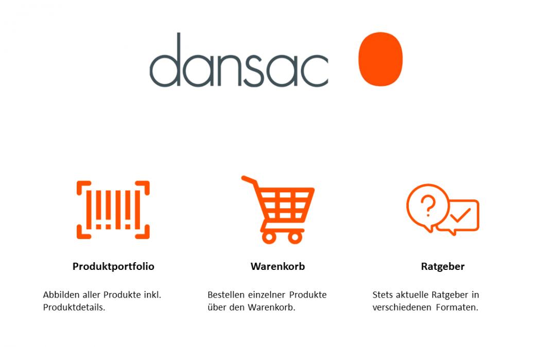 Vorläufiger Projektabschluss – Dansac Applikation