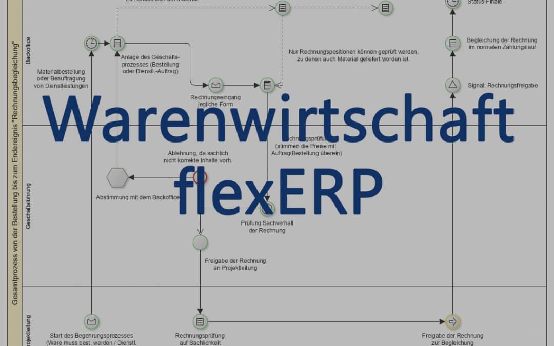 flexERP Warenwirtschaftssystem – Einführung und Start der Blogreihe