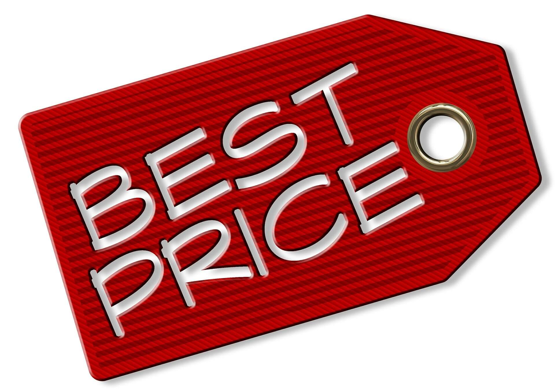 flexERP Artikelverwaltung - Preisschild