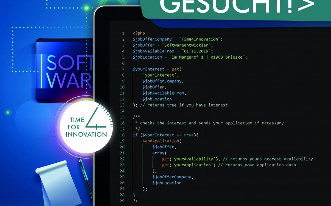 Insider gesucht – Softwareentwickler