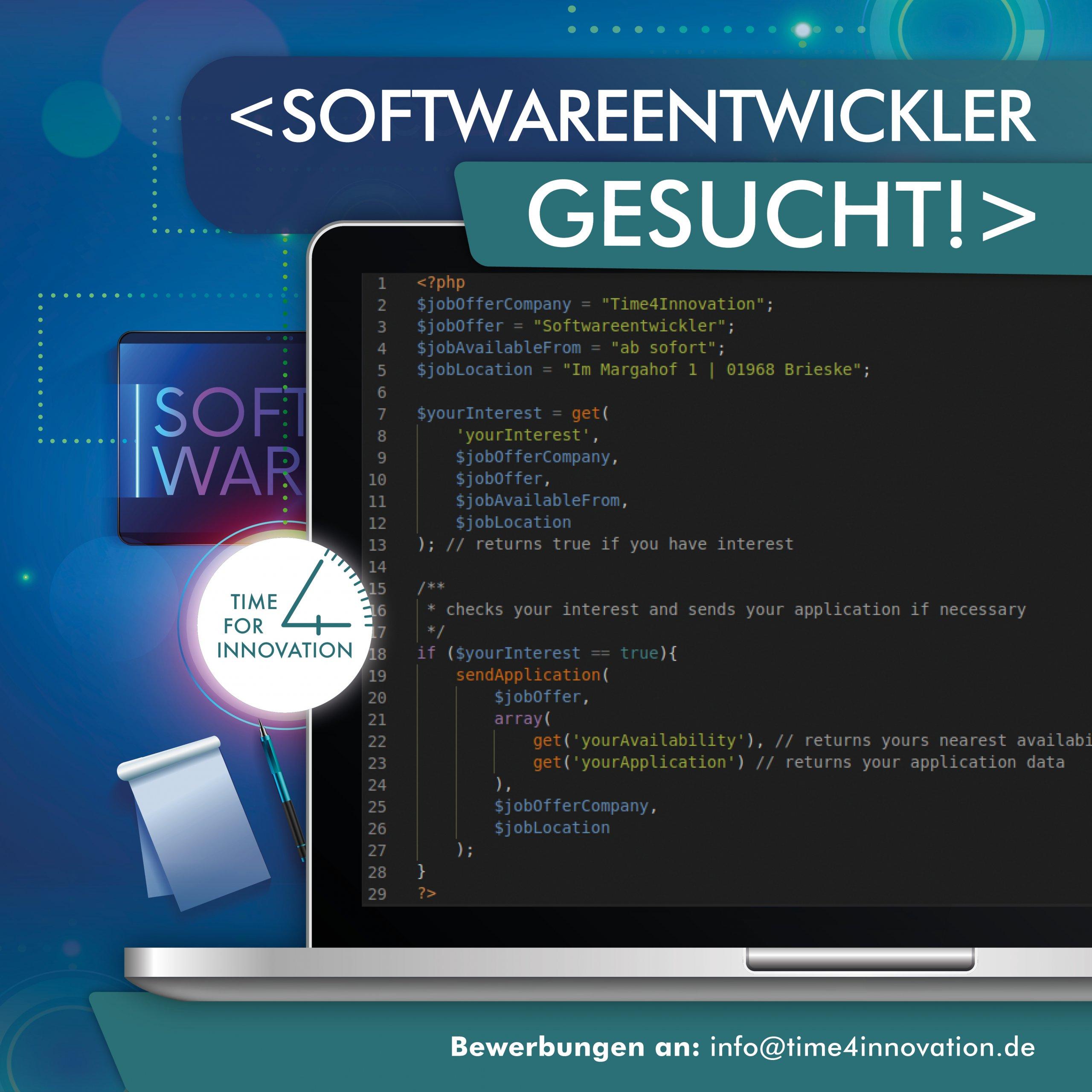 Insider gesucht - Softwareentwickler
