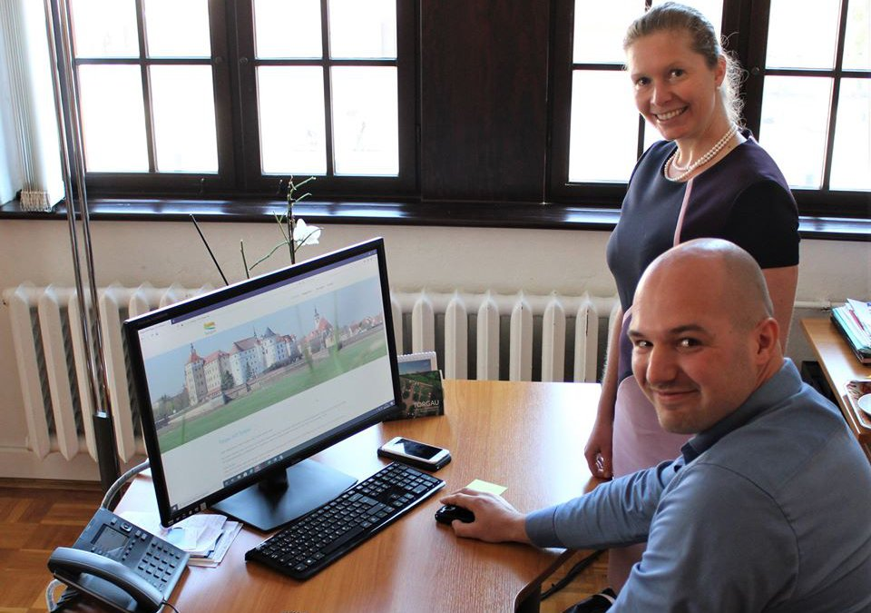 Entwicklung des Webportals Torgau-hilft-Torgau.de für Händler und Bürger